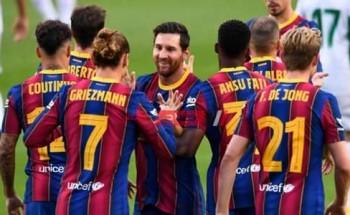 نتيجة وملخص مباراة برشلونة وإلتشي الدورى الاسباني
