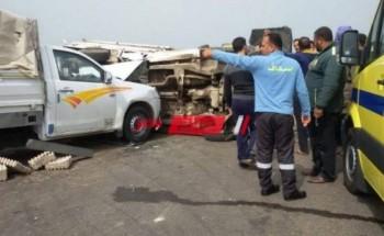 إصابة 12 شخصاً إثر حوادث الشرقية خلال 24 ساعة
