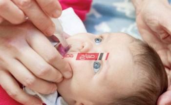 بدء حملة التطعيم ضد شلل الأطفال يوم الأحد القادم في الإسكندرية