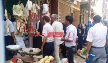حملة تفتيشية بالمنيا تسفر عن ضبط 46 مخالفة تموينية متنوعة