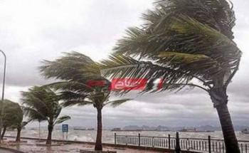رياح شديدة تضرب الإسكندرية وتساقط أمطار اليوم وغدا