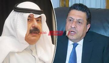 سفير مصر يوصل رسالة الرئيس السيسي لأمير دولة لكويت