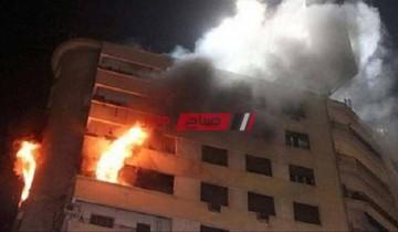 تفاصيل إصابة 5 مواطنين بحروق جراء إنفجار أسطوانة غاز بشقة سكنية بشبرا الخيمة