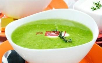 طريقة عمل شوربة الفول الأخضر بكريمة الطهى على طريقة الشيف سارة عبد السلام