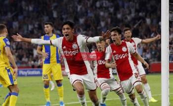 نتيجة وملخص مباراة أياكس أمستردام وليل الدوري الأوروبي