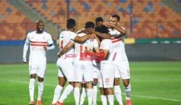 نتيجة مباراة الزمالك وأسوان الدوري المصري