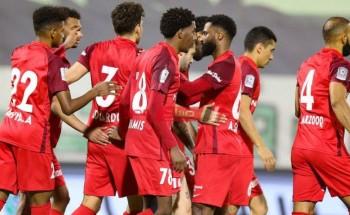نتيجة وملخص مباراة شباب الأهلي دبي وخورفكان الدوري الاماراتي