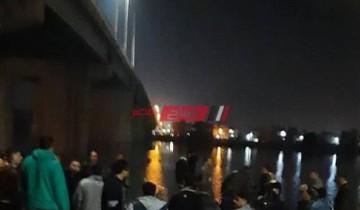 صور انتشال جثة شاب من مياه نهر النيل بدمياط وإنقاذ 2 آخرين