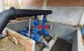مياه القناة: إصلاح الخط الرئيسي لمياه الشرب بمحافظة السويس