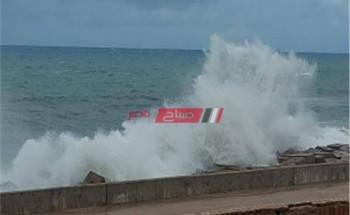 بسبب الرياح الشديدة غلق بوغازي ميناء الإسكندرية والدخيلة