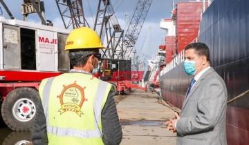 ميناء دمياط: نواصل العمل بكامل طاقتنا رغم التقلبات الجوية
