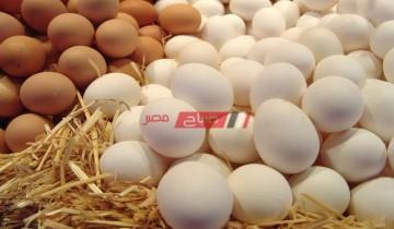 أسعار البيض الأحمر والأبيض والبلدي اليوم الخميس 15-4-2021