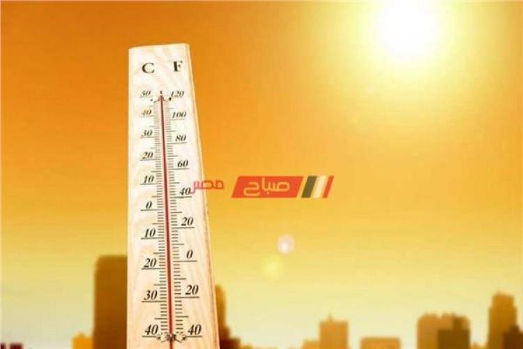 ارتفاع درجات الحرارة اليوم وغدا علي جميع المحافظات – تعرف علي التفاصيل