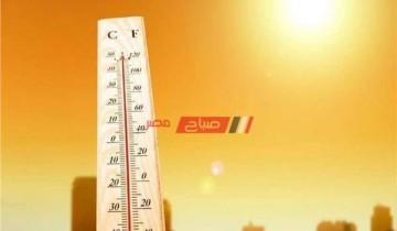 ارتفاع درجات الحرارة ورياح نشطة علي البلاد غدا الأربعاء