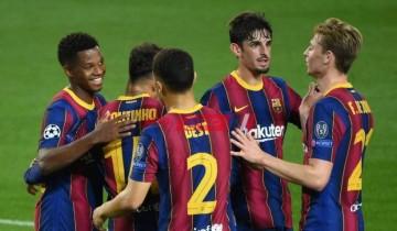 نتيجة وملخص مباراة برشلونة وأوساسونا الدوري الإسباني