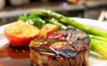 طريقة عمل ستيك اللحم بصوص المستردة والعسل بطعم مميز كالمطاعم على طريقة الشيف سارة عبد السلام
