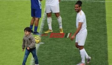 صورة طفل يتسلل إلى ملعب مباراة ميت الخولي ودمياط تتصدر جوجل