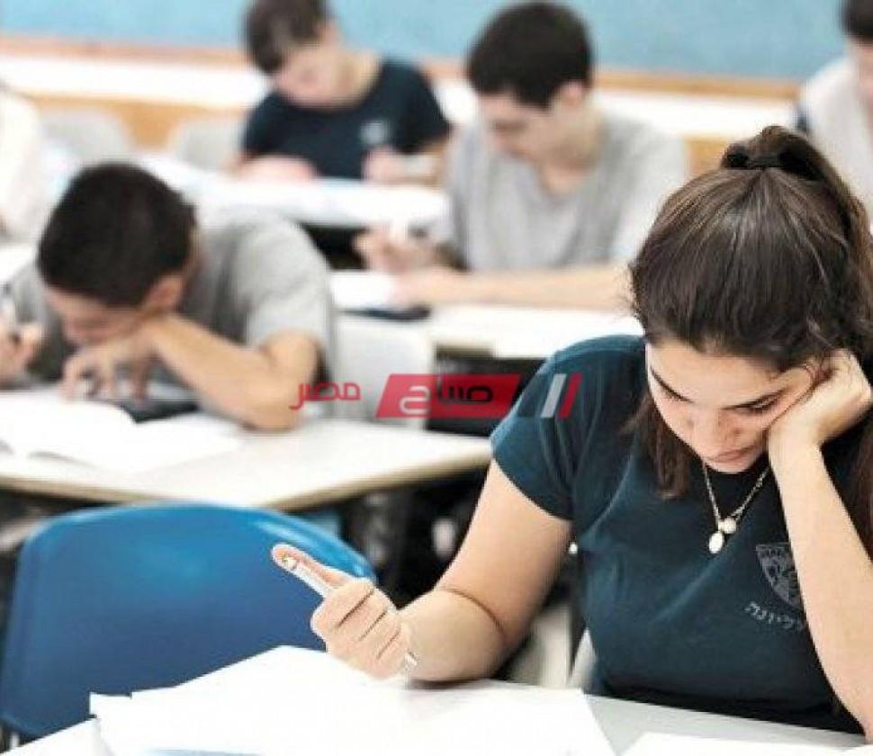 جدول امتحانات الشهادة الاعدادية الترم الثاني 2021 محافظة الإسكندرية وزارة التربية والتعليم