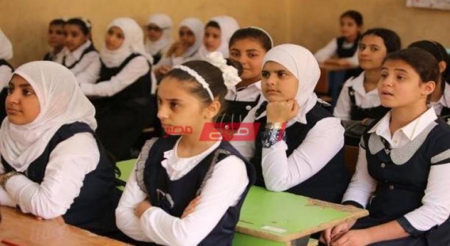 توزيع منهج شهر مارس 2021 للصف السادس الابتدائي وزارة التربية والتعليم