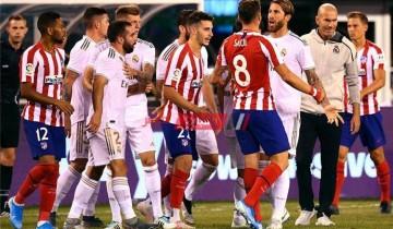مشاهدة مباراة ريال مدريد وأتلتيكو مدريد بث مباشر الدوري الاسباني