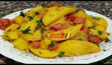 طريقة عمل مخلل البطاطس كمقبلات في أقل من 3 دقيقة