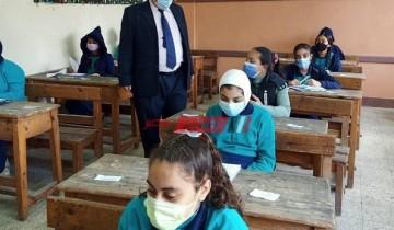 مدير تعليم الإسكندرية يتابع لليوم الخامس امتحانات الفصل الدراسي الأول 2021