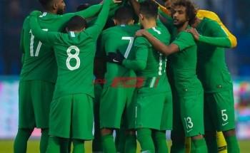 ملخص ونتيجة مباراة السعودية والكويت الودية