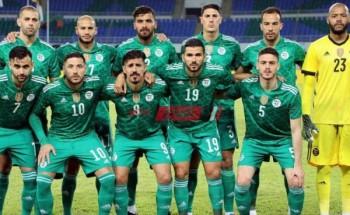 نتيجة مباراة الجزائر وبوتسوانا تصفيات أمم أفريقيا 2022