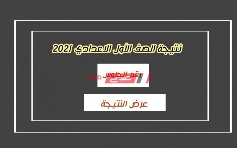 بالدرجات.. نتيجة الصف الأول الاعدادي الترم الأول 2021 وزارة التربية والتعليم