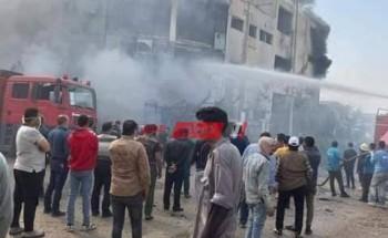 مصرع وإصابة 44 شخصاً جراء حريق هائل فى القليوبية خلال الـ 24 ساعة الأخيرة