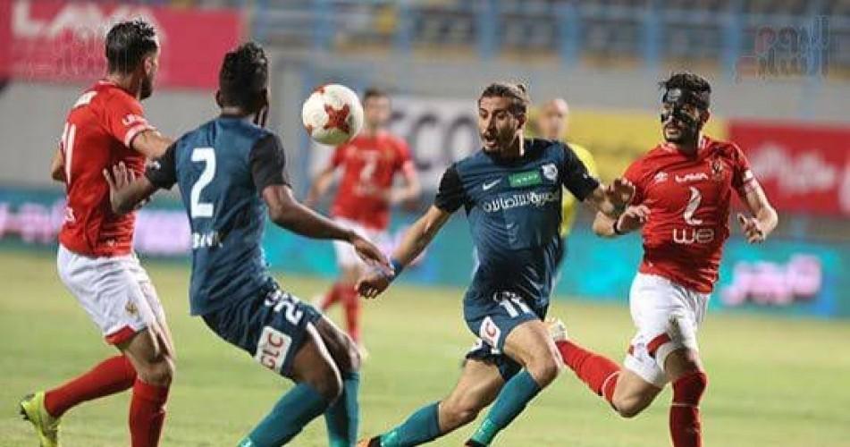 إنبي يعلن إصابة لاعبه بفيروس كورونا قبل مواجهة الأهلي