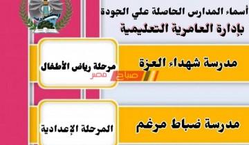 اعتماد ٤٧ مدرسة من الهيئة القومية لضمان جودة التعليم والاعتماد بتعليم الإسكندرية