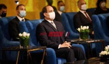 الرئيس السيسى يؤكد على الشهادة الصادرة من مجمع الوثائق مؤمنة بنسبة 99.9%