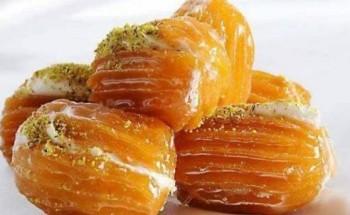 طريقة عمل بلح الشام لحلوي لذيذة وشهية في شهر رمضان الكريم 2021