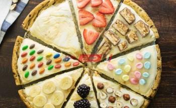 طريقة عمل بيتزا الايس كريم الشهية واللذيذة ضمن قائمة حلويات رمضان 2021