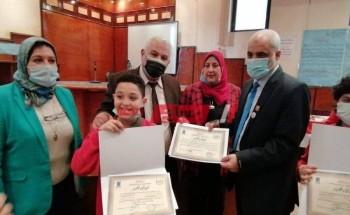 تعليم الإسكندرية يحصل عدد من المراكز المتقدمة على مستوى الجمهورية في مسابقة مسابقتي معرض صحيفة الطفل والإذاعة المدرسية
