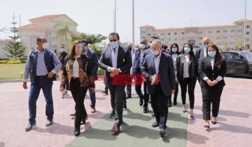 محافظ دمياط ووزير التعليم العالي والبحث العلمى يترأسان جلسة مجلس جامعة حورس