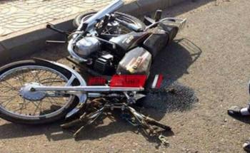 مصرع قائد دراجة بخارية فى حادث تصادم مروع فى الشرقية