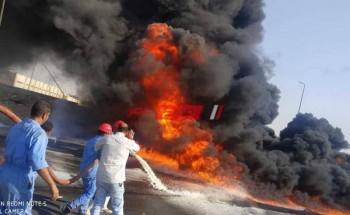 اندلاع حريق بمصنع بمدينة العاشر من رمضان والدفع بعدد من سيارات الإطفاء