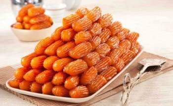 طريقة عمل حلوى بلح الشام بطريقة سهلة من قائمة حلويات رمضان 2021 على طريقة الشيف فاطمة ابو حاتى