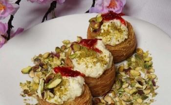 طريقة عمل حلوى تاج القشدة من ضمن قائمة حلويات شهر رمضان ٢٠٢١