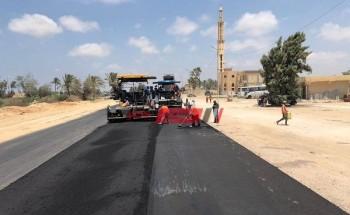 رفع كفاءة الطرق في 7 مناطق عشوائية بمحافظة الإسكندرية