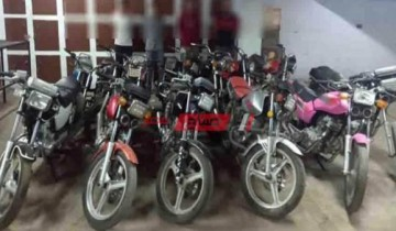 القبض على عاطلان تخصصا فى سرقة الدراجات النارية فى سوهاج