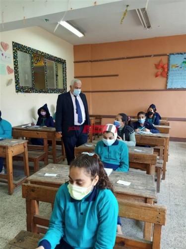 للصف الثاني الثانوي توزيع منهج اختبار شهر أبريل 2021 والنماذج الاسترشادية للامتحانات المجمعة وزارة التربية والتعليم