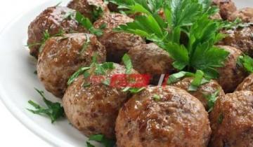 طريقة عمل كرات اللحم بالأعشاب الإيطالية لطبق مميز فى رمضان 2021 على طريقة الشيف سارة عبد السلام