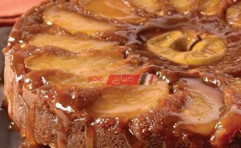 طريقة عمل كيكة التفاح بالقرفة من قائمة الحلويات في شهر رمضان الكريم 2021