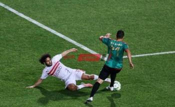 نتيجة وملخص مباراة الزمالك ومولودية الجزائر دوري أبطال أفريقيا