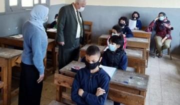 مدير تعليم الإسكندرية يتفقد سير امتحانات شهر أبريل 2021 بإدارة وسط التعليمية لليوم الثالث
