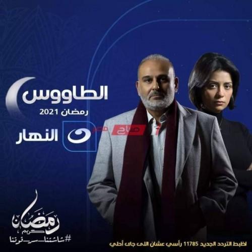 موعد عرض مسلسل الطاووس على قناة النهار رمضان 2021
