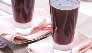طريقة عمل مشروب الخروب المصري أشهر المشروبات الرمضانية السهلة والبسيطة في رمضان 2021
